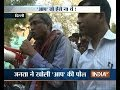 Watch AAP leader Ashutosh reacts aggressively after public's questioning