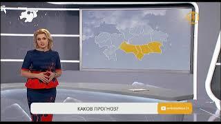 Штормовое предупреждение объявлено в трех областях Казахстана и в Астане