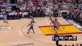 Philadelphia 76ers Vs Miami Heat  Full Game Highlights -Playoffs Game 3
