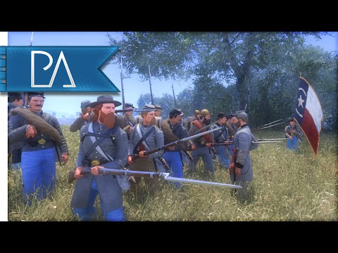 CONFEDERATE DRILL CAMP - War of Rights Gameplay
