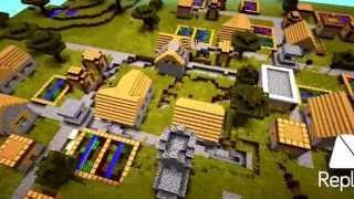 Minecraft PE's BIGGEST VILLAGE SEED!
