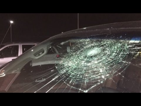 Baseball Player Hits Grand Slam But Ball Shockingly Smashes His Truck Windshield