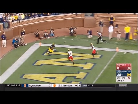 2016: Michigan 59 Maryland 3