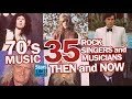 70's Music : 35 Rock & Punk Singers And Musicians Nowadays | Rockstars Then And Now