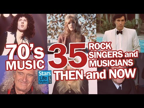 70's Music : 35 Rock Singers And Musicians Nowadays | Rockstars Then And Now