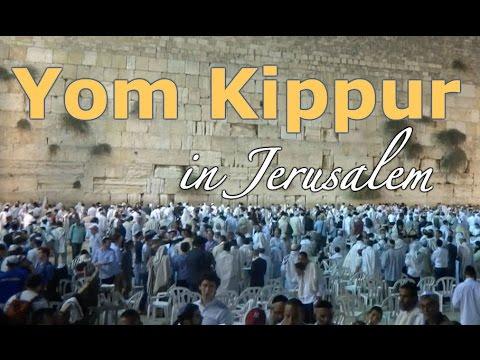 Yom Kippur in Jerusalem (2016). - YouTube