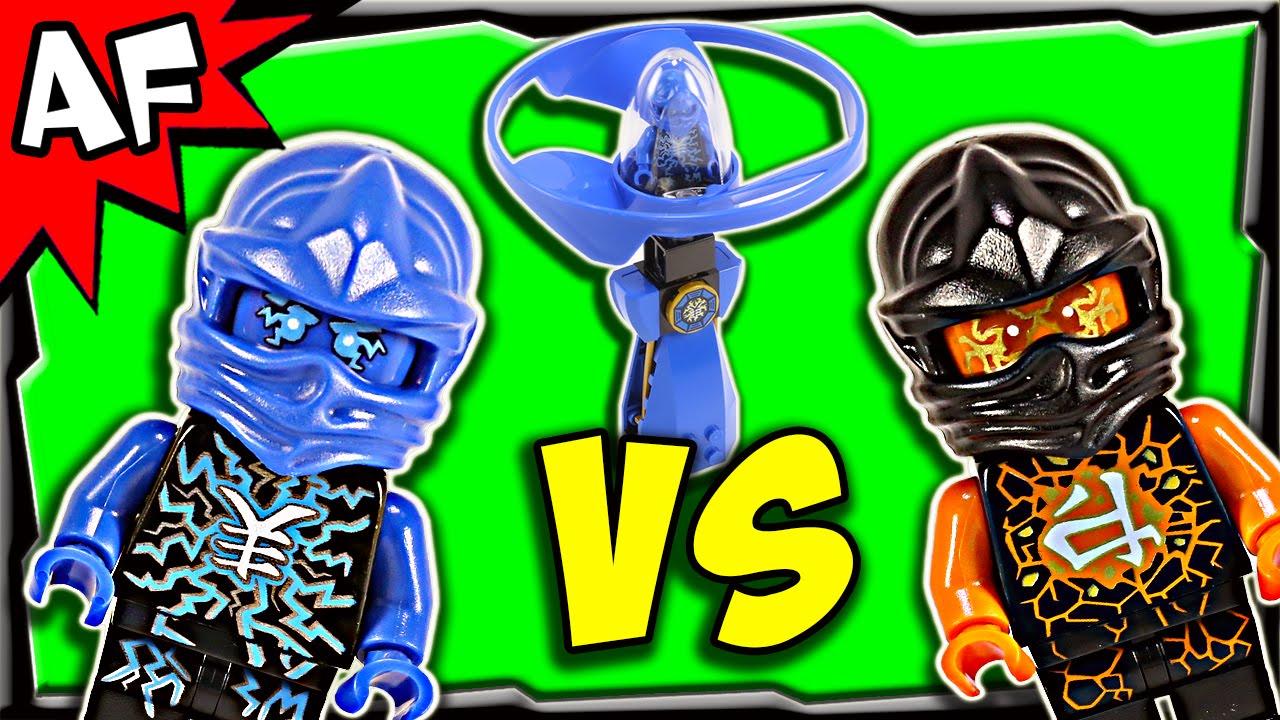 Lego ninjago jay vs cole airjitzu battle review 70740 - Ninjago vs ninjago ...