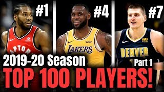 The TOP 100 Players In The NBA! - Part.1