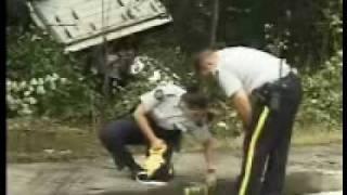 Dump Truck Crash Lost Brakes Going Down Mariner Way Coquitlam BC Canada