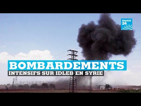 Bombardements intensifs sur Idleb - SYRIE