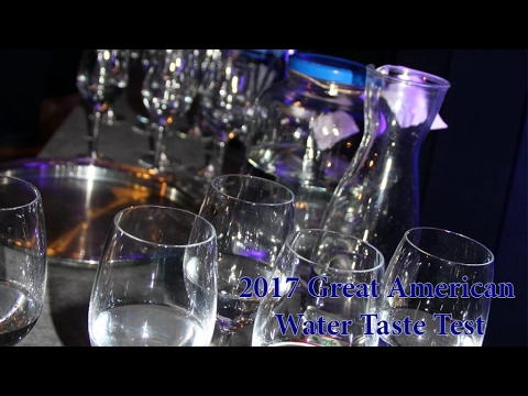 2017 Great American Water Taste Test