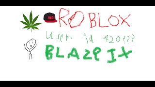 ROBLOX - WHO IS USER ID 420!?!?