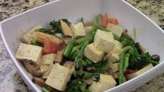 How To Make Tofu Stir Fry With Mixed Vegetables