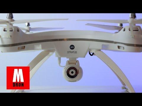 REVIEW NINCOAIR STRATUS GPS WIFI EN ESPAÑOL: Drone con control de altura y cámara FPV movil