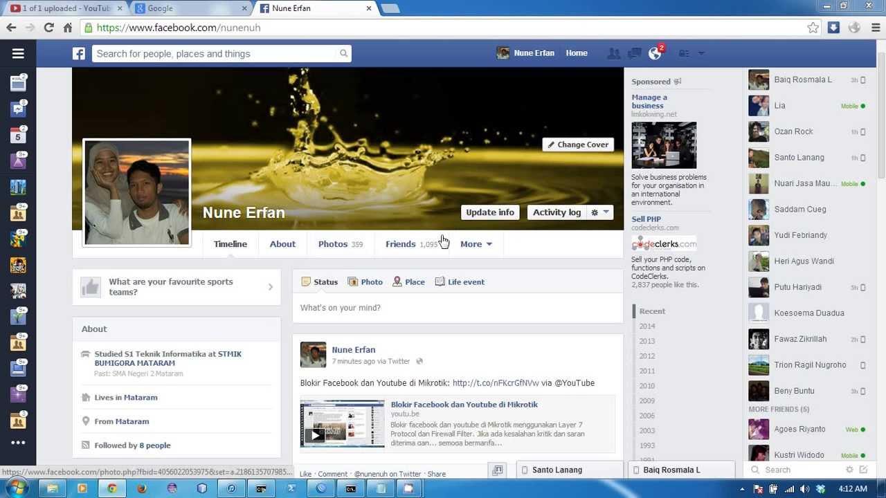 Block Facebook And Twitter Using Mikrotik