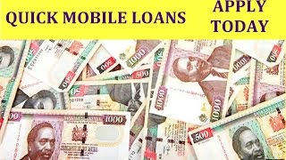 MOBILE LOANS TO YOUR PHONE | TOP BEST APPS