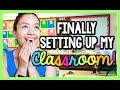 Finally Setting Up My Classroom!  | Teacher Vlog Ep. 3 video