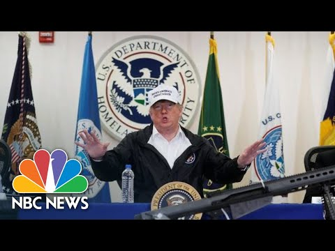 President Donald Trump: I 'Never Meant Mexico Would Write A Check' For Border Wall | NBC News