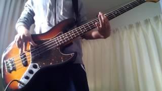 andymoriさんのFOLLOW MEをベースで弾いてみました。ポロリはないよ。