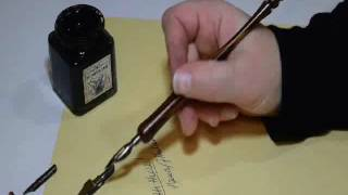 How to use a dİp pen