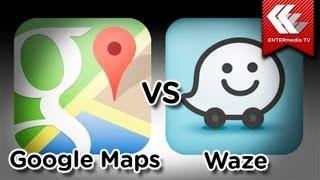 Comparativa Google Maps y Waze Free HD Video