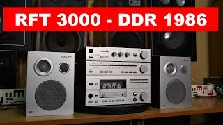 RFT 3000 HiFi - DDR year 1986