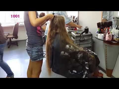 Oh UNTHINKABLE HAIRCUT 😱😱😱! Cut Off LONG HAIR To SHORT || Extreme Long Hair Cutting - 49