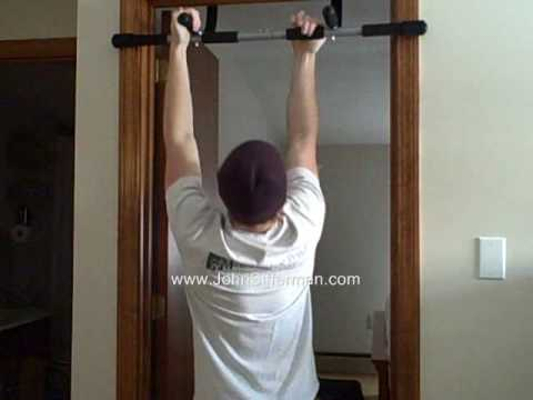 Doorway Pull Up Bar Review by John Sifferman & Doorway Pull Up Bar Review by John Sifferman - YouTube