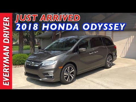 Just Arrived: 2018 Honda Odyssey on Everyman Driver