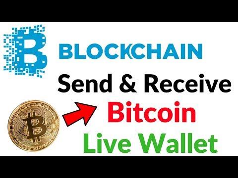 How To Send And Receive Bitcoins On Blockchain International Bitcoin Wallet Hindi/Urdu