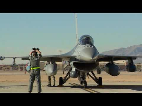 Red Flag 17-1 F-16 Stringer