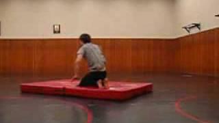 Joe Learning to backflip HAHAHA