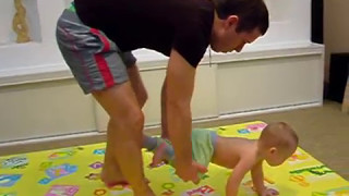 Физические упражнения для детей от 1 года.