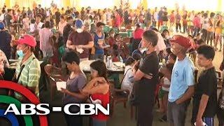 Taal evacuees nanawagan para sa tubig, masustansiyang pagkain | TV Patrol