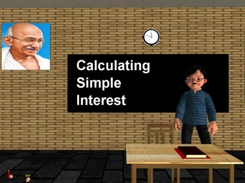 Maths - Calculating simple interest for a loan or deposit - English