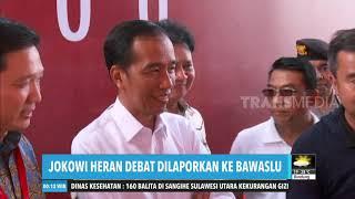 Jokowi Heran Debat Dilaporkan ke Bawaslu