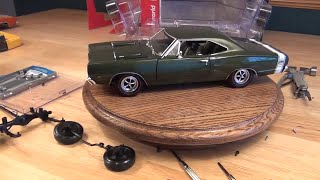 1/18 1969 Dodge Super Bee: Swapping Factory Defective Suspension