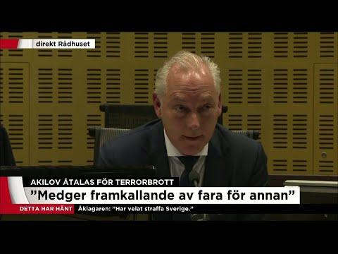 """""""Akilov har velat förmå Sverige att inte delta i koalitionen mot IS"""" - Nyheterna (TV4)"""