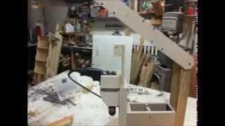 """Build A """"drill Press""""! Part 2."""