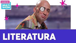 Paulo Gustavo explica a situação da LITERATURA BRASILEIRA 🧐 | 220 Volts | Humor Multishow