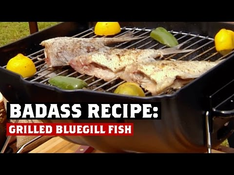 BADASS RECIPE: Grilled Bluegill Fish