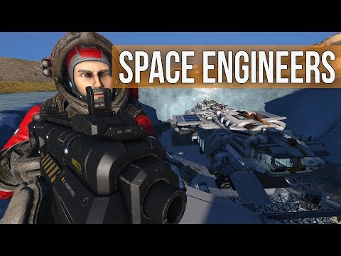 Space Engineers - Surviving the Night on Planet Haven
