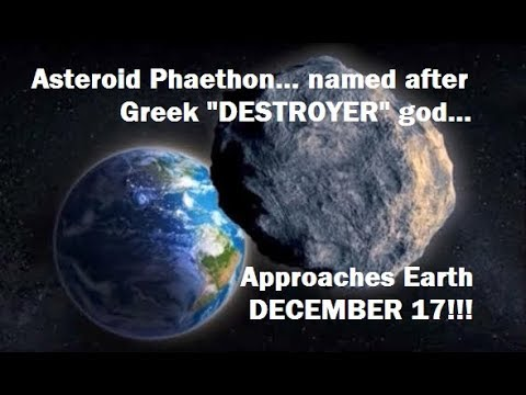 PROPHETIC! ASTEROID named after DESTROYER GOD... APPROACHES EARTH DECEMBER 17!!!
