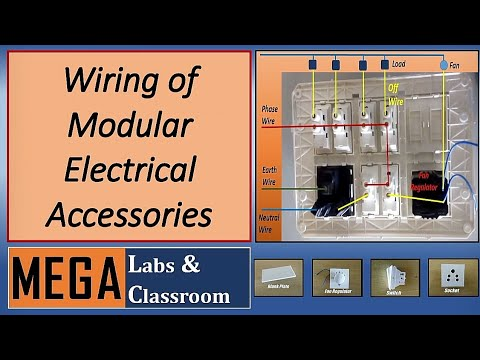 Electric wiring of board/ House wiring / Electrical wiring diagram ...