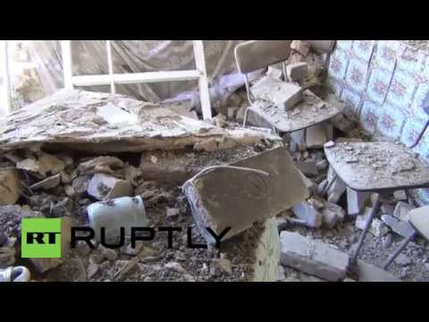 Ukraine: Slavyansk in ruins after continued shelling