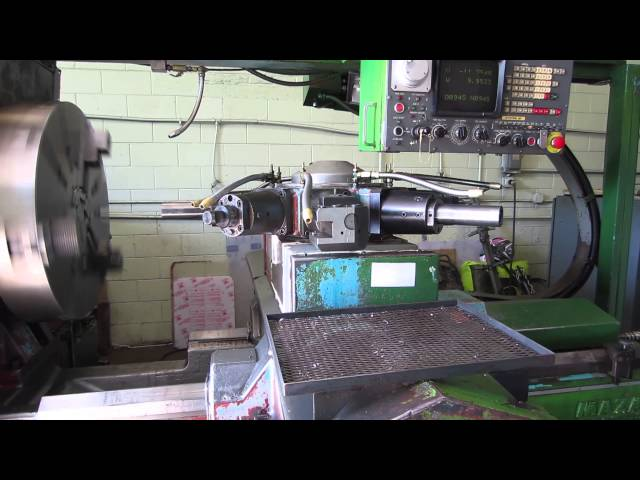 1982 Mazak Powermaster PMC-1600 CNC Lathe from Meridian Machinery, Inc. 262-854-5054 Travel Video