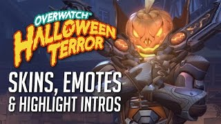 Every Overwatch Halloween Terror Skin, Emote, and Highlight Intro