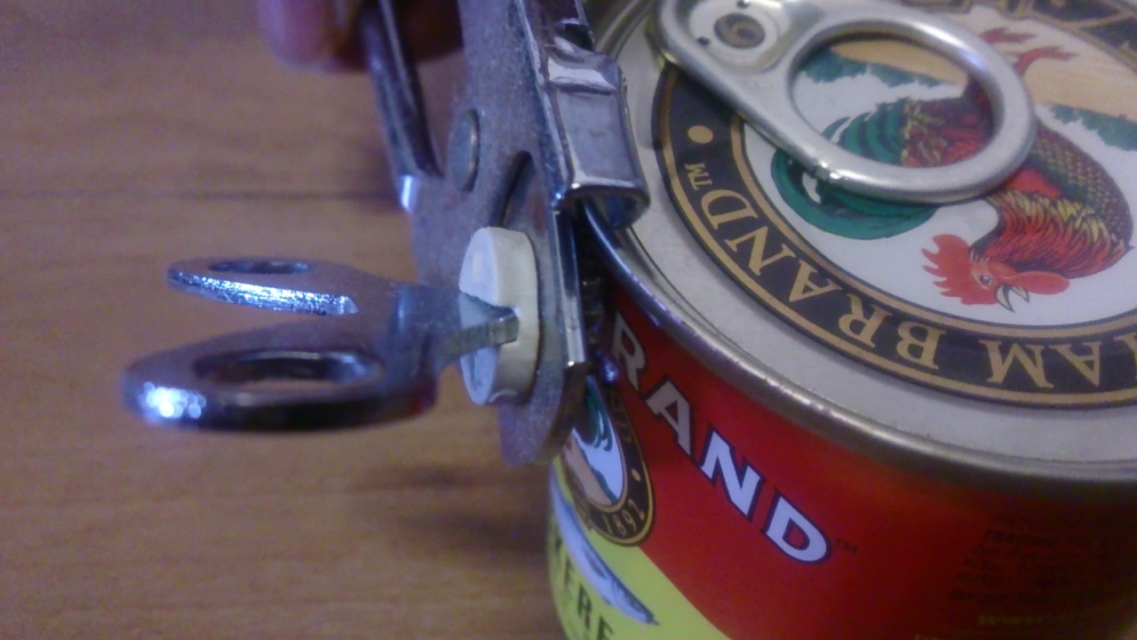 how to open tin without tin opener