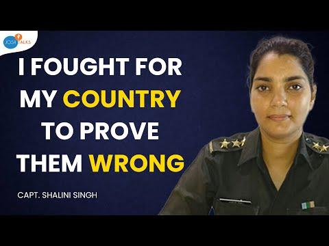 Capt. Shalini Singh | Inspiring Struggle Story Of An Indian Army Captain | Josh Talks