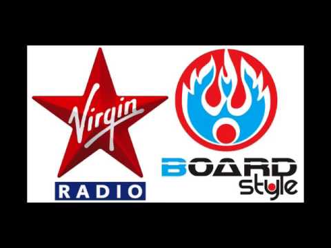 Virgin Radio Andrea Rock pubblicizza Boardstyle e il contest The Death Dance 2